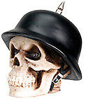 New German helmet small Spike gear shift shifter Knob lever skull