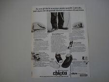 advertising Pubblicità 1976 SCARPE CHICCO