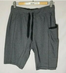 Lululemon Mens Athletic Shorts unlined Size Medium Run Training Gray
