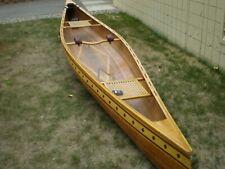 wooden Cedar canoe 17