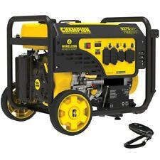 Champion 201004 7500 Watt Electric Start Generator With Rv Outlet Amp Wireless