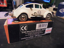 SCHUCO  micro racer  wind-up  rare  VW  HERBIE  > 1046 ,  L.E. of  1500 , #1007