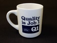 Ceramic Beverage Mug, 10 oz., Branded Ford Q1 Quality ~ Coffee, Tea, Cocoa, Soup