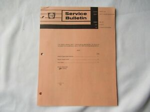 1967 Cockshutt Oliver 1950-T tractor detailed specifications service bulletin