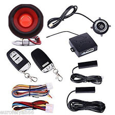 PKE Car Alarm Passive Keyless Entry With Push Button Start Remote Engine Starter