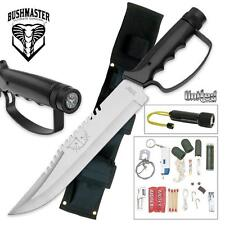 United Cutlery - BUSHMASTER Survival Knife & Sheath UC0212 NEW