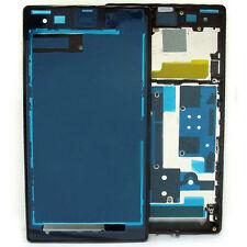 Pièce De Rechange Sony L39h Xperia Z1 LCD Cadre / Face Avant en noir