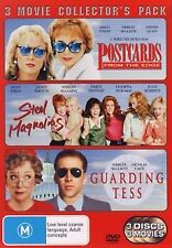 POSTCARDS FROM THE EDGE / STEEL MAGNOLIAS / GUARDING TESS (3 DVD) Collection **