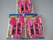 21 x 3 tlg. Garten Werkzeug Kinder   stabil Plastik Restposten insolvenz