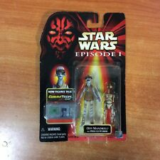 1998 Star Wars Episode 1 Figure - Ody Mandrell  w/ CommTech Chip - MOSC