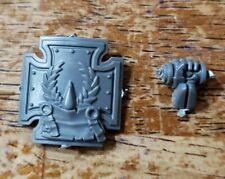 Warhammer 40k Space Marines Bits: Blood Angels Terminators Storm Shield Wreath