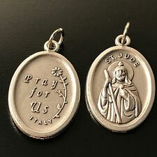 ⛪️ St.Jude - San Giuda medal blessed Pope Francis pendant charm - Rome-Italy
