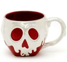 Disney Store SNOW WHITE Poison Apple Ceramic Mug 16 Oz