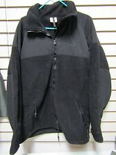 NWOT USGI Black Polartec Classic 300 Cold Weather Fleece Shirt XL Jacket