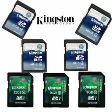 Kingston 4GB 8GB 16GB 32GB SD SDHC Class 4 Class10 Memory Card for Cameras New