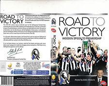 Collingwood Football Club-Road To Victory- Eddie McGuire-Football Australia-DVD