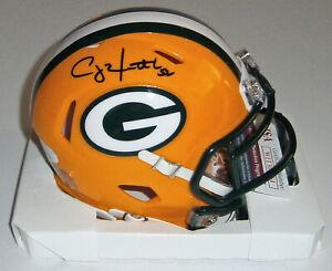 PACKERS Clay Matthews signed SPEED mini helmet w/ #52 JSA COA AUTO Autographed