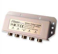 DiSEqC-Schalter 4/1 Micro  mit Wetterschutz SAT Umschalter Switch LNB HD deiseg
