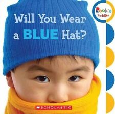 Will You Wear a Blue Hat? (Rookie Toddler)-ExLibrary