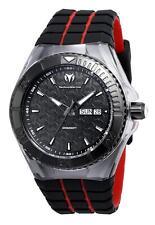 New Technomarine 115184 Cruise Locker Swiss Day Date  Black Dial Watch