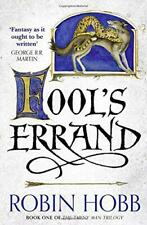 Fool's Errand (The Tawny Man Trilogy, Book 1) by Hobb, Robin, NEW Book, FREE & F