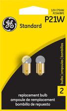 Turn Signal Light Bulb-Base GE Lighting P21W/BP2