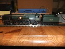 """Hornby BR Green 4-6-2 Loco Merchant Navy 35012 """"United States Lines"""" in set tray"""