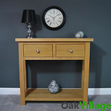 Oak Console Table / Hall Table / Solid Wood / Oakley