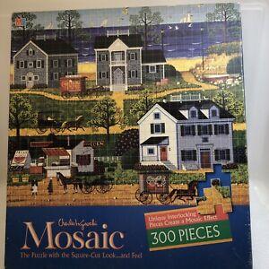 Jigsaw Puzzle Mosaic Charles Wysocki Gulls Nest 300 Pieces 4290-1