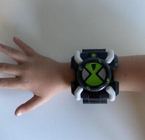 Ben 10 Omnitrix FX Watch Lights Sounds Bandai 2006 *Fresh Batteries* RARE