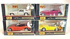 Maisto Lot Of 4 PT Cruiser Corvette Stingray Alpha Romero Die Cast Car Vehicles