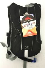NEW High Sierra Wave 50 Black Hydration Pack and Bottle 58456 Camelbak