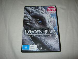 Dragonheart: Vengeance - Joseph Millson - VGC - DVD - R4