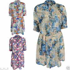 Hand-wash Only Floral Dresses for Women with Belt