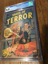 Tales of Terror #1 comic 1952 CGC 4.0 GOLDEN AGE!