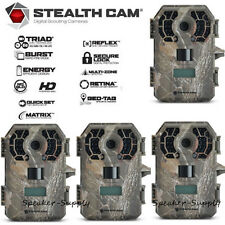 4 Pack Stealth Cam Triad G42NG Game Trail Cameras Cam 10MP HD Video IR STC-G42NG