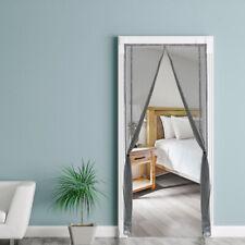 Insektenschutz Tür Fliegengitter zuschneidbar Magnetverschluss Vorhang Balkontür