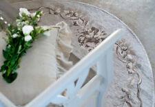 Blanc Mariclò Collezione Romantic Tappeto ovale 175 x 240 cm Tortora