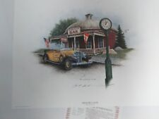 MEMORY LANE Signed Print  by Ben Richmond... 1998...