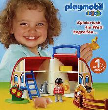 Prospekt Playmobil 1-2-3 1/12 2012 Broschüre 20 S. Spielzeug Spielwaren Katalog