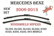 Front Windshield Wiper Blade Set For Mercedes GL320 GL350 GL450 GL550 R350 R550