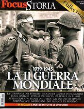 FOCUS STORIA COLLECTION=1939-1945 LA II° GUERRA MONDIALE=POSTER DELLE UNIFORMI