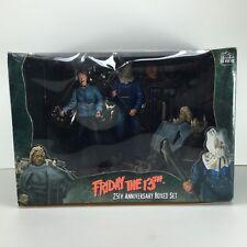 Neca Reel Toys Friday the 13th Jason Voorhees Figura De Acción Set Nuevo Horror