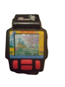 Nelsonic Super Mario World Watch with game 1990s from Japan free shipping
