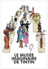 Affiche Le musée imaginaire de Tintin.POSTER TINTIN MOULINSART 23004. NEUF