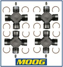 4 Premium Driveshaft Universal Joint Front and/or Rear Moog Greasable