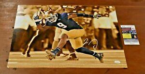 JAYLON SMITH Signed 16x20 Photo-NOTRE DAME Linebacker-Cowboys-JSA Authentication