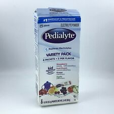 Pedialyte Powder Packets / 8 Count Variety / Pediatrician Recommended 05/2022