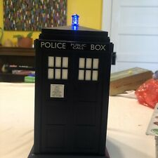 Doctor Who Tardis Cookie Jar with Light & Sound Effects - Great Shape!