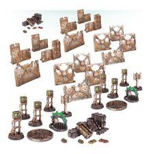 Games Workshop Warhammer 40k Necromunda Terrain Barricades & Objectives NEW